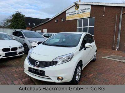 gebraucht Nissan Note 1.2 Acenta 1.Hd.+AHK+Klimaauto