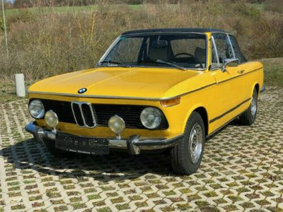 käytetty BMW 2002 Baur Targa Cabriolet / H-Kennzeichen