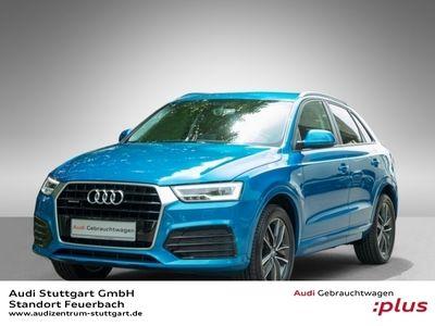 gebraucht Audi Q3 2.0 TDI quattro S line selection Navi LED SHZ