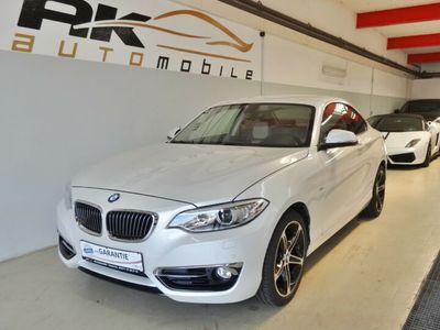 gebraucht BMW 218 218 Coupe i Luxury Line Xenon Navi Leder PDC