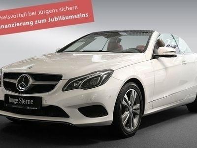 gebraucht Mercedes E250 Bluetec Cabriolet Comand+Fahrassist.+360°