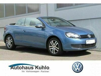 gebraucht VW Golf Cabriolet Golf Cabriolet VI Trendline 1.2 TSI, SHZ, MFA+,