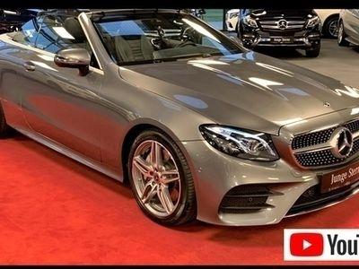 second-hand Mercedes E300 Cabrio AMG line Multibeam Burmester Comand