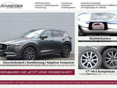 gebraucht Mazda CX-5 SKY-D 175 AT Sports,Technik,Leder,STHZ,M+S,GSD