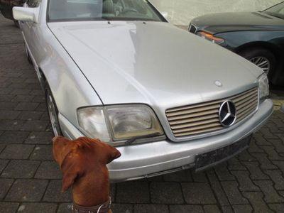 gebraucht Mercedes SL600 Deut.Fahr. AMG-Felgen V 12