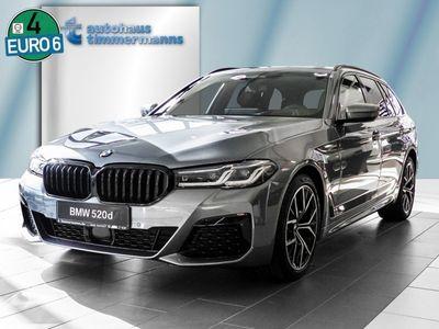 gebraucht BMW 520 d Touring M Sport Innovation. AHK Laser Pano