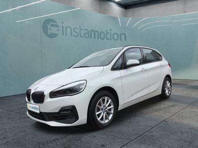 gebraucht BMW 216 Active Tourer 216 Active Tourer i Advantage EU6d-T Klima PDC SHZ Bluetooth Park-Assistent