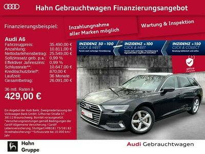gebraucht Audi A6 Avant 40TDI S-Trc Sport Navi SitzH Cam Alcantara