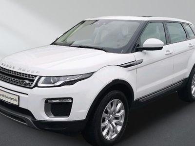 gebraucht Land Rover Range Rover evoque 2.0 TD4 SE Autom. Leder Panoramadach Bluetooth PDC Klima
