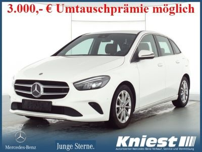 gebraucht Mercedes B180 d Progressive+7G-DCT+Comand+LED+EU6d-Temp