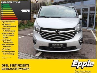 gebraucht Opel Vivaro B Combi L1H1 2,7t 1.6 CDTI Biturbo Leder Navi LED-Tagfahrlicht Spiegel-aut.-abl.