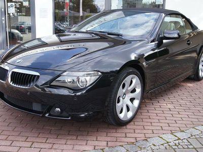 gebraucht BMW 630 Cabriolet i Navi-Prof*Leder*el.Windschutz*SHZG*