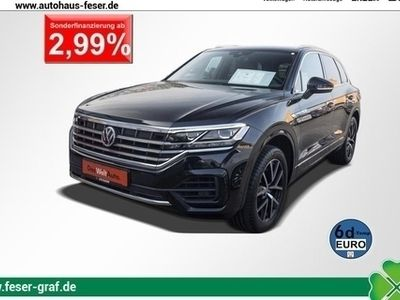 gebraucht VW Touareg R-LINE 3.0 TDI AHK NAVI LED KAMERA ACC D