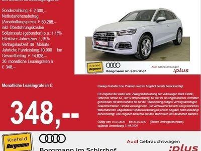 gebraucht Audi Q5 45 TFSI quattro S tronic S line MMI Navi plus LED KLIMA ALU