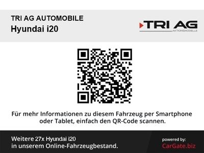 gebraucht Hyundai i20 Select 1.0 Turbo Funktions-Paket RDC Alarm Klima Multif.Lenkrad NR AUX USB MP3 ESP