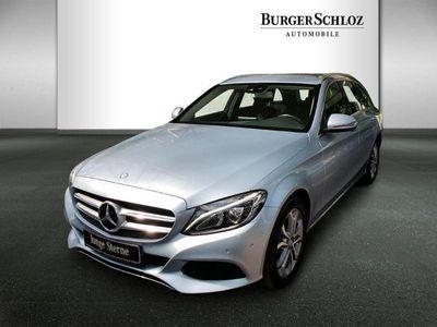gebraucht Mercedes C220 d T-Modell Avantgarde/LED/Navi/PDC