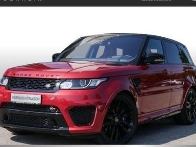 gebraucht Land Rover Range Rover Sport 5.0l SVR Schiebed./DAB/AHK-elekt (Navi Xenon Leder