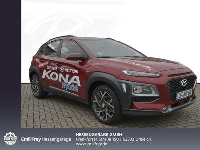 gebraucht Hyundai Kona 1.6 GDI DCT Hybrid Premium 77 kW, 5-türig (Benzin/Elektro)