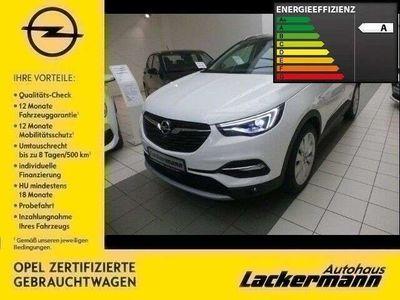 gebraucht Opel Grandland X Ultimate +AHK+Leder*DAB*ACC+LED+Navi+Keyless+Dyn.