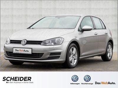 gebraucht VW Golf VII 1.6 TDI Comfortline AHK GRA Navi SHZ