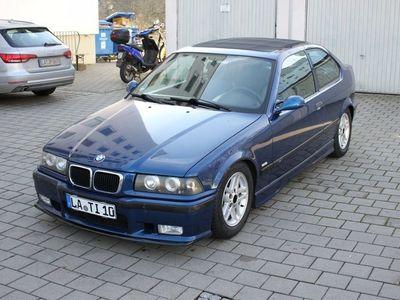 gebraucht BMW 323 Compact E36 TI mit Faltdach und M-Paket Avusblau