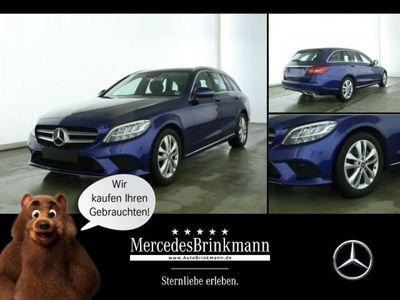 gebraucht Mercedes C220 d T-Modell AVANTGARDE/LED/SHZ/AHK/ASSYPKT Kamera