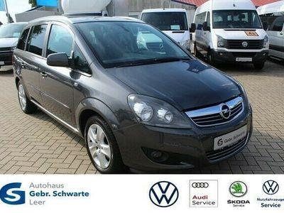 gebraucht Opel Zafira 1.6 Design Edition AHK KLIMA MFL PDC TEMP