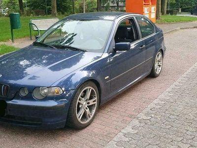 gebraucht BMW 320 D E46 Compact, Für Bastler oder Export