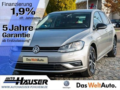 gebraucht VW Golf VII 1.6 TDI SCR IQDRIVE NAVI SITZHZG. ACC