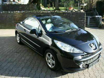 gebraucht Peugeot 207 CC Cabrio-Coupe Roland Garros