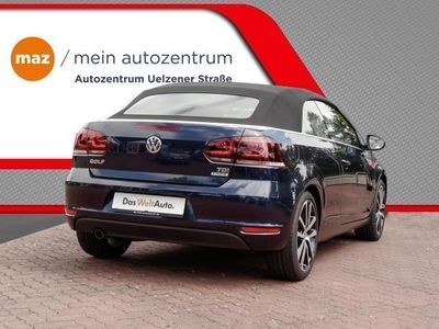 gebraucht VW Golf Cabriolet CUP 1.6 TDI Bi-Xenon ParkPilot (Klima Einparkhilfe