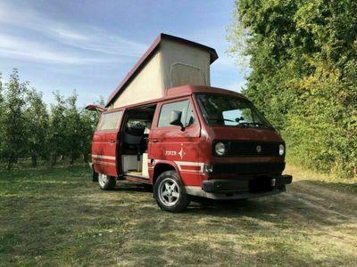 gebraucht VW T3 Westfalia Rot Schaltgetriebe 69 HP