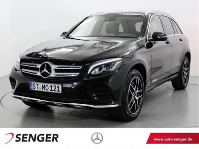 gebraucht Mercedes GLC250 d 4M AMG Line Comand Burmester Rückfahrk