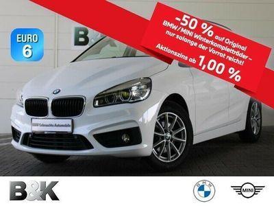 gebraucht BMW 218 Active Tourer d LED Navi Parkassistent Klima