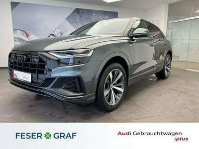 gebraucht Audi Q8 45 TDI qu. - 3 x S line - Pano - Luft - ACC