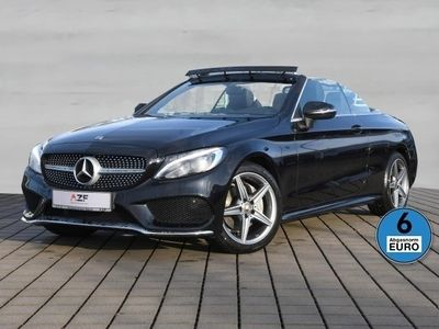 gebraucht Mercedes C200 C Cabrio AMG Line Aut. Leder+LED+SHZ+GRA