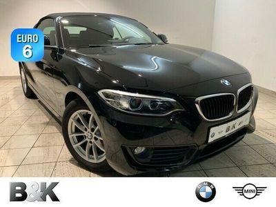 gebraucht BMW 218 i Cabrio Xenon Vollleder Klima PDC