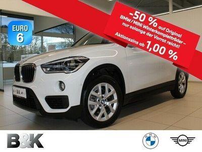 gebraucht BMW X1 sDrive18d Modell Advantage LED Navi ParkAss.