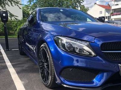 gebraucht Mercedes C250 Coupe 7G-TRONIC AMG Line