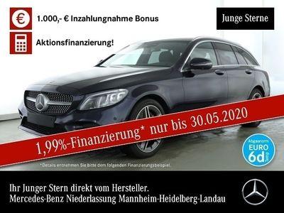 gebraucht Mercedes C300 d T AMG 360° Distr. PTS Easy-Pack 9G Sitzh