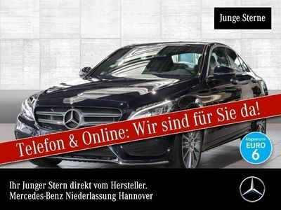 gebraucht Mercedes C350e AMG Airmat Burmester LED Keyl-GO Kamera