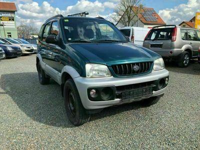 gebraucht Daihatsu Terios 1.3 CXL 4x4 ALLRAD ANHÄNGERKUPPLUNG