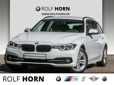 gebraucht BMW 318 d Touring Sport Line Aut. Navi PDC LED EURO 6