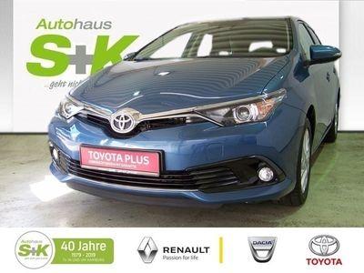 gebraucht Toyota Auris 1,2-l-Turbo, Start-/Stop 5-Türer Edition-S