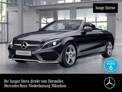 gebraucht Mercedes C200 Cab. 4M AMG LED Airscarf Navi Totwinkel PTS