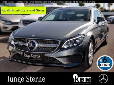 gebraucht Mercedes CLS350 d 4M SB °NAV°DISTRONIC°TWA°SHD°LED-MB°