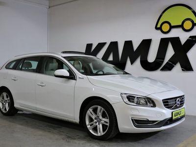 gebraucht Volvo V60 D6 AWD Hybrid Summum +Bi-Xenon +Glasschiebedach +Navi +Rückfahrkamera
