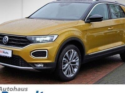 gebraucht VW T-Roc 2.0 TDI DSG*LED*NAVI*4M*PANO*ACTIVE INFO