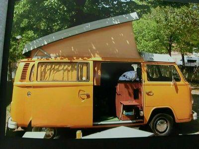 gebraucht VW T2 Einer der letzten original BulliWes...