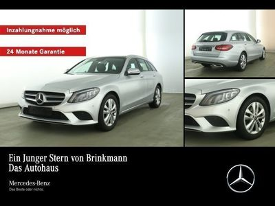 gebraucht Mercedes C220 C220d T-Modell AVANTGARDE/PANO/AHK/MOPF/LED/NAVI